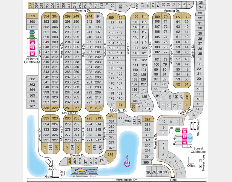 55+ RV Park & Camping Estates in Zephyrhills, Dade City & Tampa